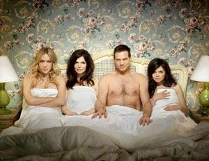 мужчина и три женщины