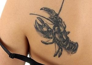 татуировка скорпиона